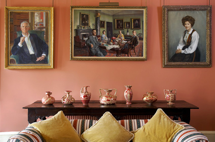 Entrance Hall Portraits